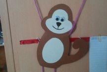 Monkey craft ideas