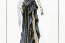 Fashion illustrations by Paul Keng