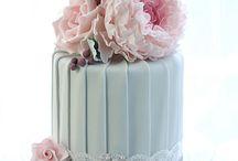 A cake flowers