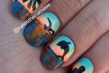 Picture on nails