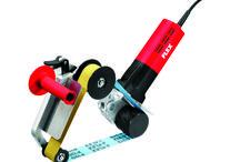 KEMER BORU ZIMPARA MAKİNASI, KEMER ZIMPARA MAKİNASI LRP 1503 VRA-SET / Kemer zımpara makinası FLEX  LRP 1503 VRA-SET ile boru korkuluklar ve merdiven korkuluklarında mükemmel temizleme ve finisaj sağlarsınız.