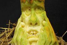 esculturas vegetais
