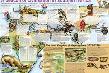 South African world heritage sites / Infographics about South African heritage sites
