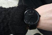Tümüyle siyah moda