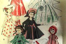 doll clothes 1950 Revlon Type