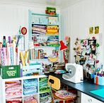 Sewing & Crafty Spaces / by Jenny Gabriel