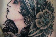 visage tattoo