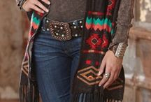Southwest Style / Southwestern themed fashion and accessories