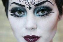makeup čarodějnice