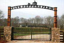 Entrance & New Fence