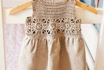 roupas de croché