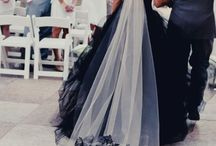 Black Wedding Colour Theme / Here are some inspirational pins if you're wanting to include black as part of your wedding colours