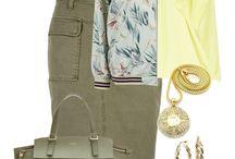 Сеты / Модные сочетания предметов одежды, модное сочетание цветов и аксессуаров
