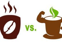 YERBA MATE VS COFFEE / Yerba mate is, in many ways, considered coffee's rival. And the winner is.... Read about it and you'll be surprised.