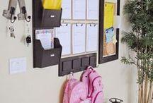 organized wall