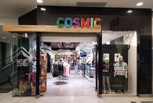 Inside our stores / Take a peek inside the fun, colourful and extraordinary world of Cosmic stores.