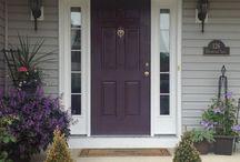 Front door/siding