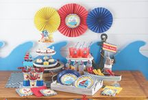 Baby Shower Ideas / AHOY BABY! Get inspired to celebrate the mom-to-be and keep your guests having fun too! Baby Shower Ideas galore!