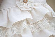 lace and ruffle