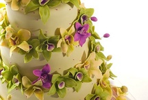 Orchid Wedding Cake / by Liz Giese