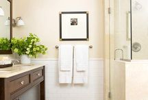 Bathroom ideas / by Catherine Downing