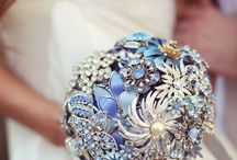 Creative Bouquets / A wedding bouquet isn't limited to flowers!