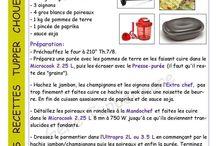 recette tupperware fiche Parmentier jambon poireaux