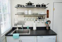 dapur kotor kecil klasik