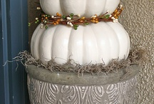 Fall/Thanksgiving / Decorating for Christmas