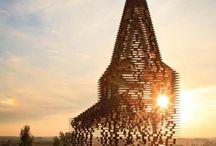 sculpture/architecture