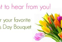 Mother's Day App - Vote for your Bouquet / Show your family & friends which arrangement you'd prefer  Simply click the 'LIKE' & 'SHARE' button on your favorite bouquet.