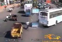 Live Crashes / Amazing Car Crash Compilations Road Accidents