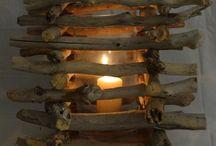 Laternen aus Holz