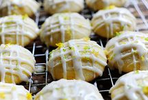 menu: sweets and treats - baked. / by Danell Thompson