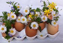 Diy fleurs centre table