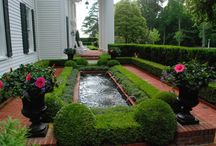 Water in the Landscape / water features from our portfolio and also some that we just love