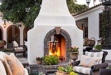 Fireplaces / by Elizabeth Matustik