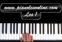leren piano spelen / by Lorraine
