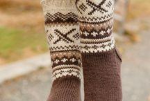 Socks sokker / Strikk
