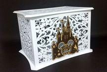 Wedding card box / Disney castle