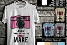 Kaos kamera dan fotografi | Camera and Photography T-shirt