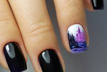 Landscape/Flowers/Animals nails