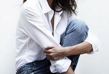 Chemise / Women's Shirts / #white shirt # white collar