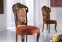 Art. 3294: Chairs, Armchairs / The elegance of white or the classical style of cherry? Wich one do you prefer?  http://bellosedie.com/products/chairs-and-armchairs/3294s-3294a.html