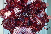 Be my valentine / Wreaths, bedrooms, romantic, crafts / by Ronda Cromeens