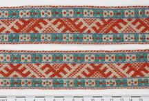 Estonian weaving / I visited Estonia to research their woven bands a few years ago.  Unfortunately, my trip to Tartuu was disappointing as I was not allowed to take photographs.  Fortunately there is a good online resource.