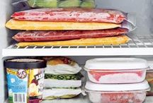 Freezer Meals / Freeze now, eat later: Healthy freeze-ahead recipes.