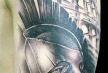 Tatuagem Gladiador