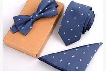 Men's Ties, Bow Ties and Pocket Squares