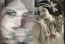 psp / Deze afbeelding heb ik gemaakt in opdracht van ons forum pspjemetonsmee.nl  Hier werd gevraagd je eigen fantasie te laten werken.